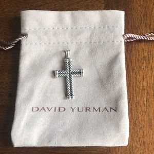 David Yurman cross pendant